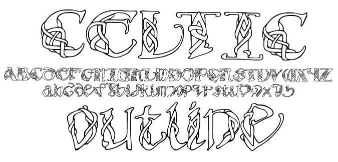 Celtic Font
