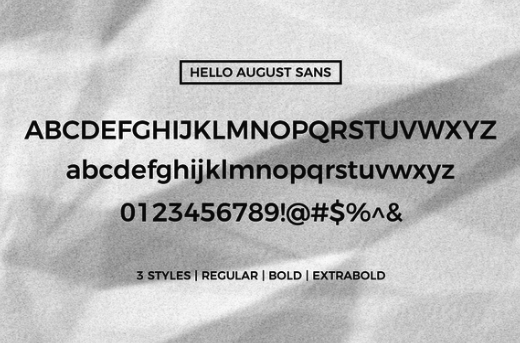 Hello August Font