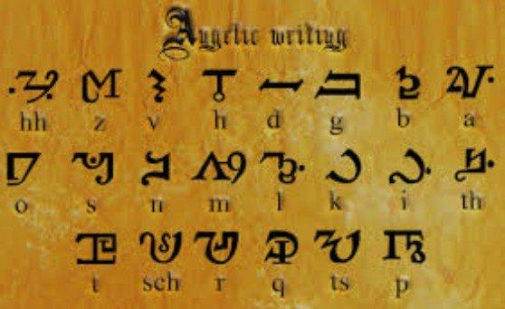 Theban Alphabet Font