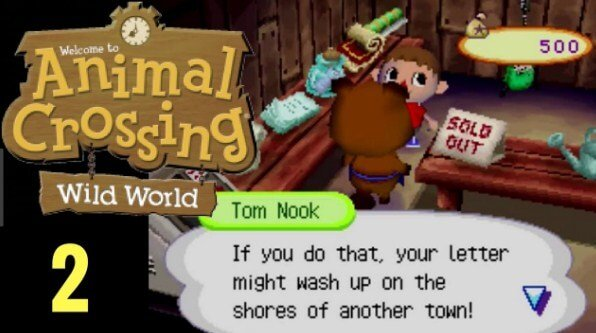 Animal Crossing Wild World Font
