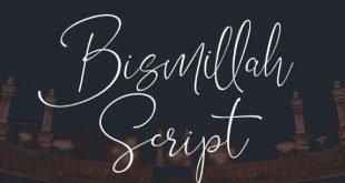 Bismillah Font