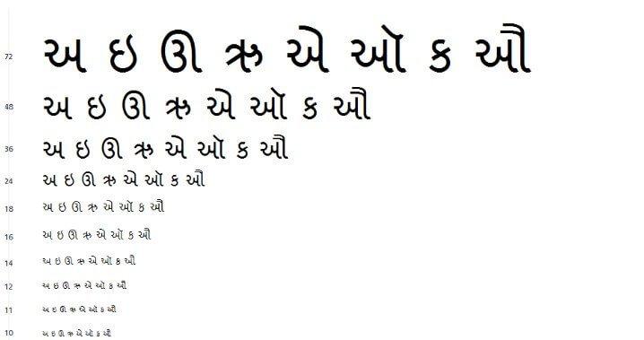 Shruti Font