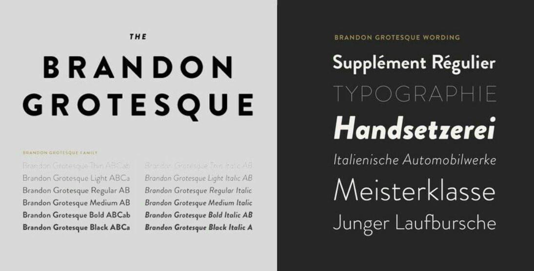 brandon grotesque font free download mac