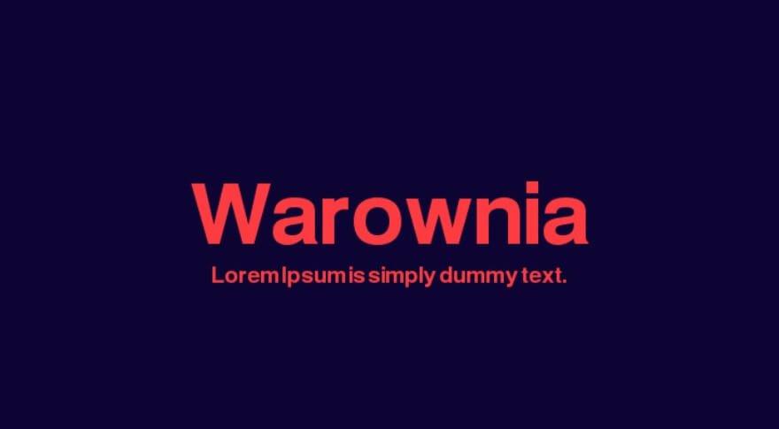 Warownia Font - Helvetica Neue Font Free Alternatives
