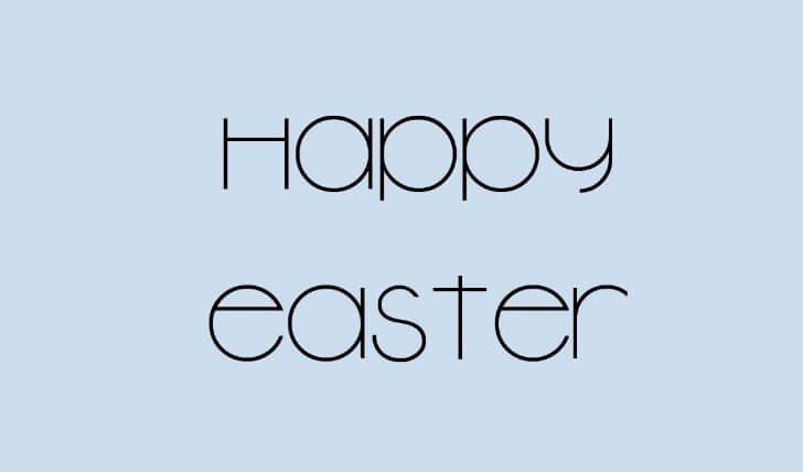 Easter Font