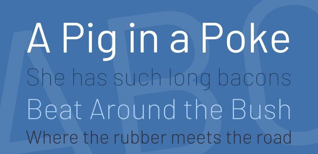 barlow font - Barlow Font Free Download