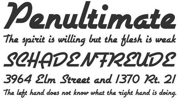 Chalet London Nineteen Sixty Font