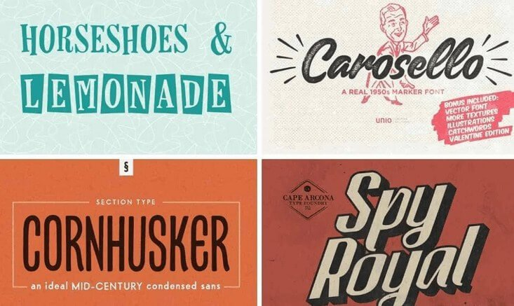 Fabulous 50s Font