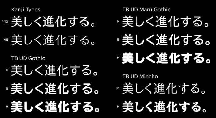 Kanji Font