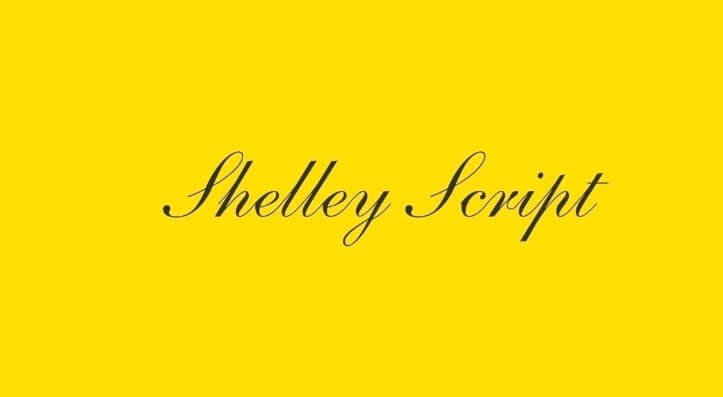 Shelley Allegro Font