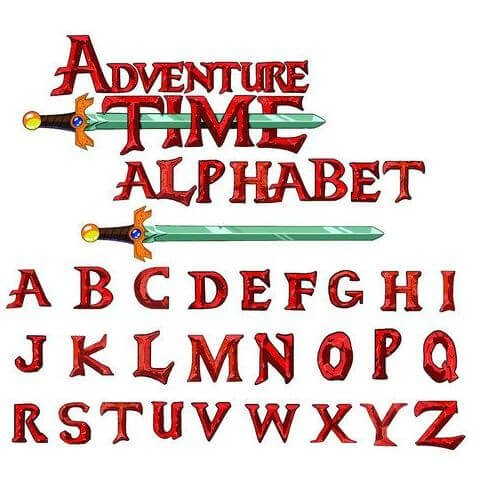 adventure time font - Adventure Time Logo Font Free Download