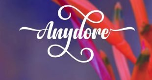 anydore font 310x165 - Anydore Script Font Free Download
