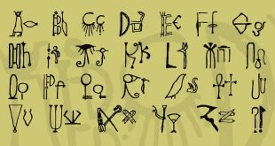 egyptian font 310x165 - Egyptian Font Free Download