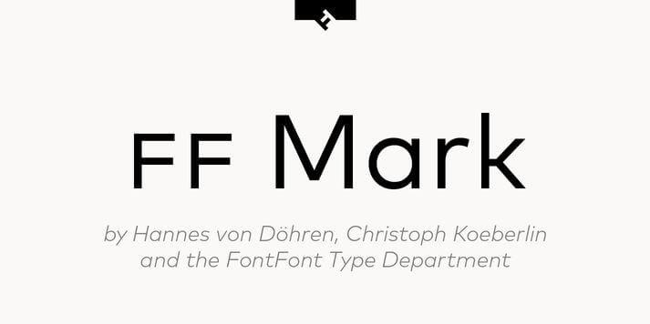 ff mark font - FF Mark Font Free Download
