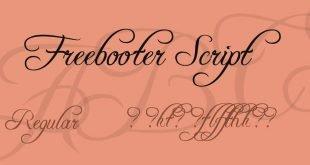 freebooter script font 310x165 - Freebooter Script Font Free Download