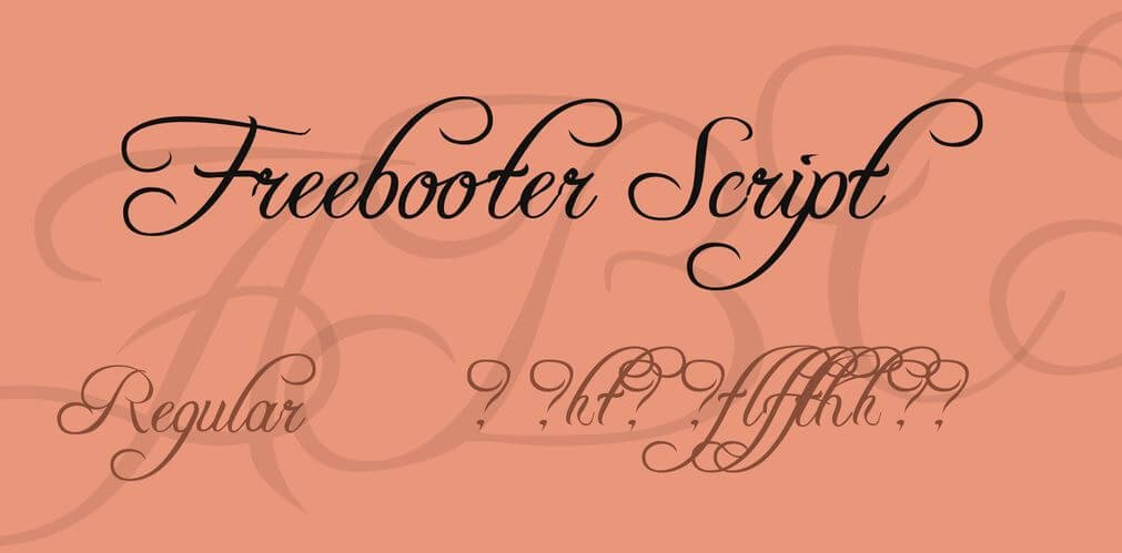 freebooter script font - Freebooter Script Font Free Download