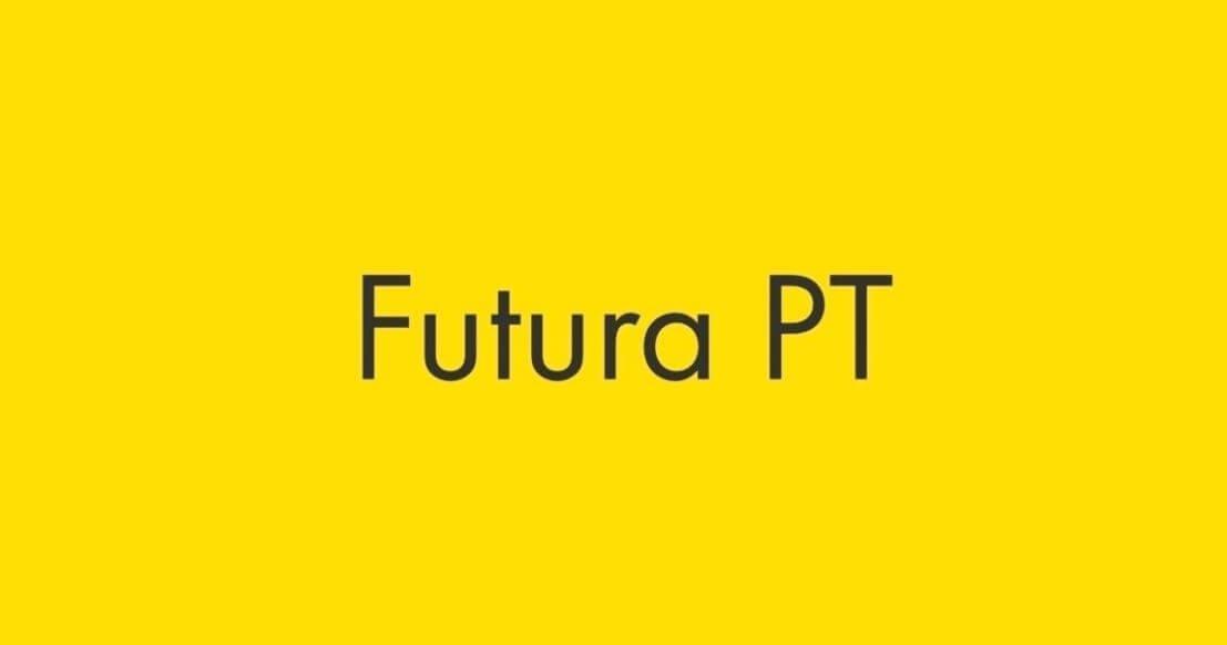 futura pt font - Futura Pt Font Free Download