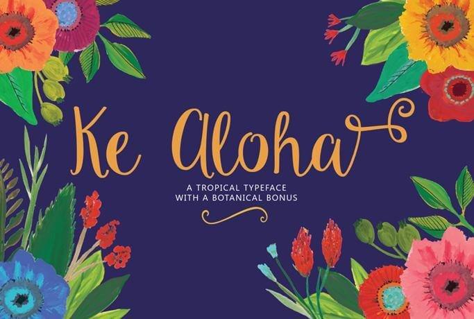 ke aloha font - Ke Aloha Font Free Download