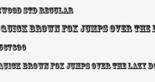 rosewood font 310x165 - Rosewood Font Free Download