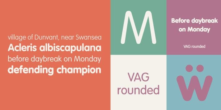vag rounded font - Vag Rounded Font Free Download