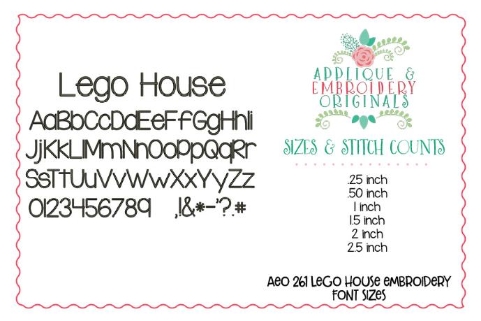 Lego House Font