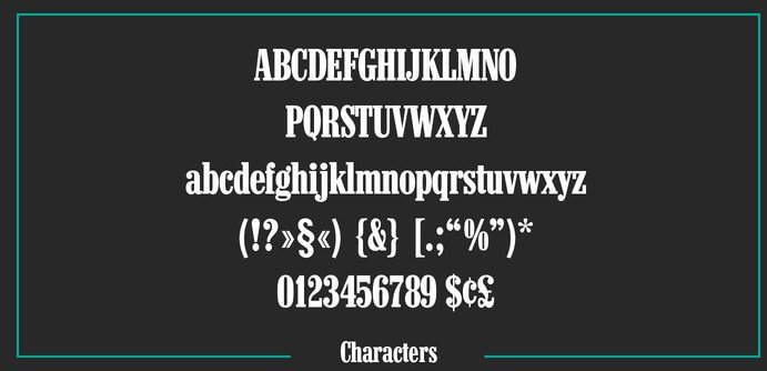 Marlboro Font