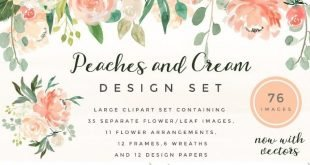 Peaches And Cream Font