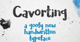 covarting font 310x165 - Cavorting Handwritten Font Free Download