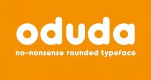 odudo font 310x165 - Oduda Rounded Font Free Download