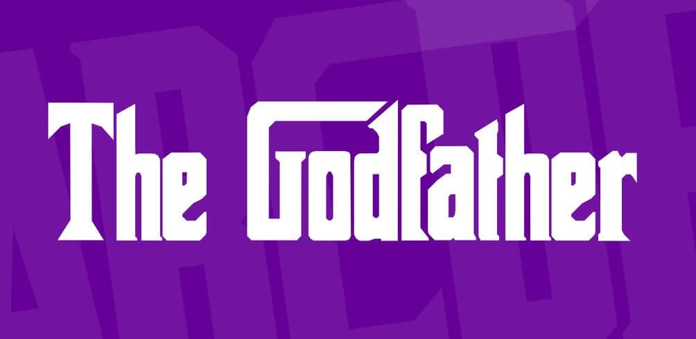 the godfather font - The Godfather Font Free Download