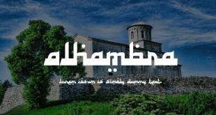 Alhambra Font