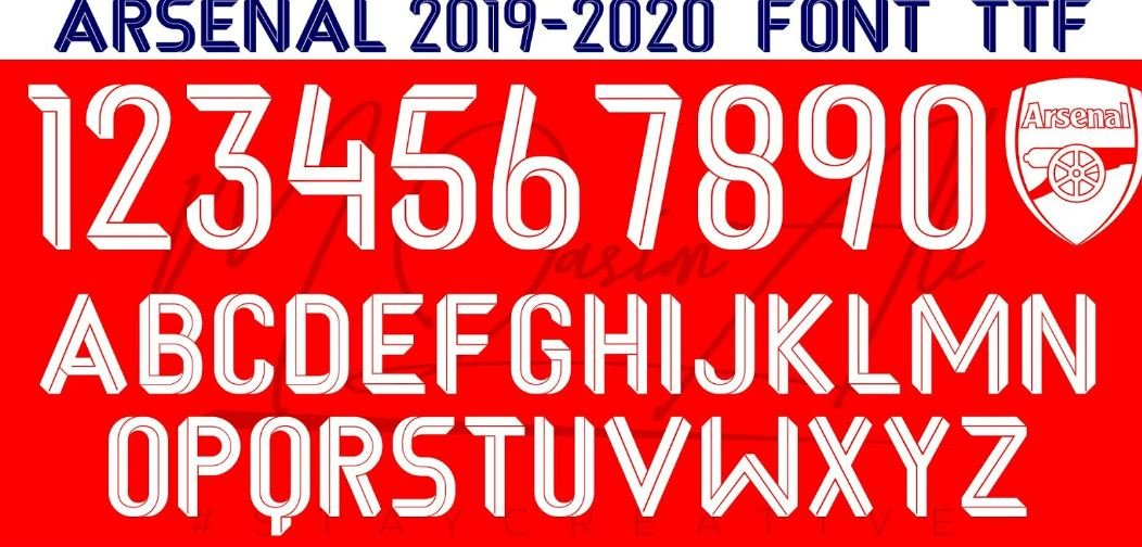 Arselan font - Arsenal Font Free Download