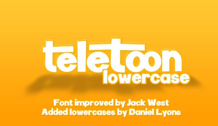 Lowercase Font