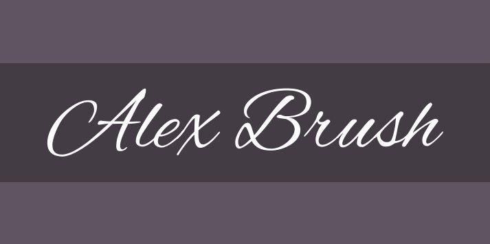 alex brush font - Alex Brush Font Free Download
