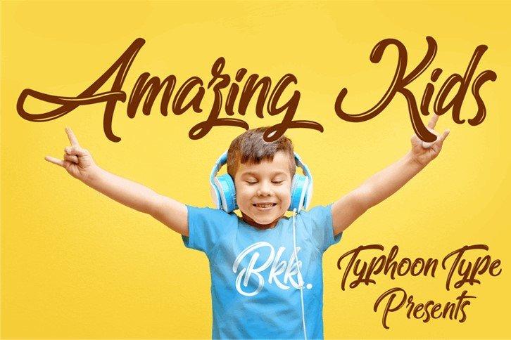 amazing kid font - Amazing Kids Font Free Download