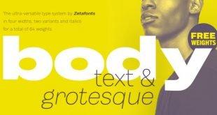 body font 310x165 - Body Font Free Download