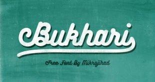 bukhari script 310x165 - Bukhari Script Font Free Download