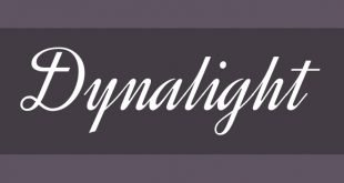 dynalight font 310x165 - Dynalight Font Free Download
