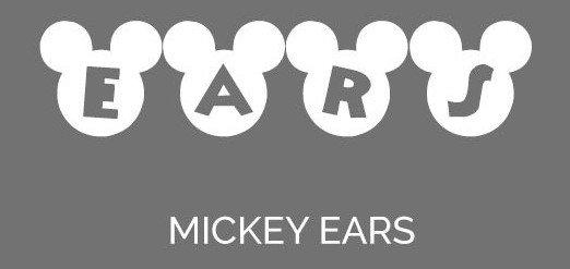 ears font - Mickey Ears Font Free Download