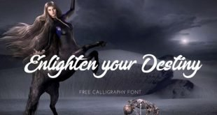 enlighten you destiny 310x165 - Enlighten Your Destiny Font Free Download