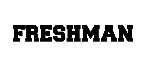 freshman font - Freshman Font Free Download