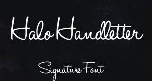 halo handletter font 310x165 - Halo Handletter Font Free Download