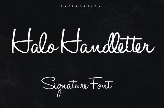 halo handletter font - Halo Handletter Font Free Download