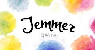 jemmer font 310x165 - Jemmer Hand painted Font Free Download