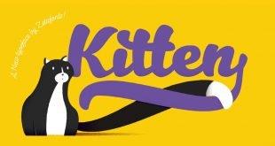 kitten font 310x165 - Kitten Font Free Download