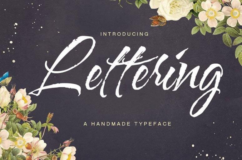 lettering script font - Lettering Script Font Free Download