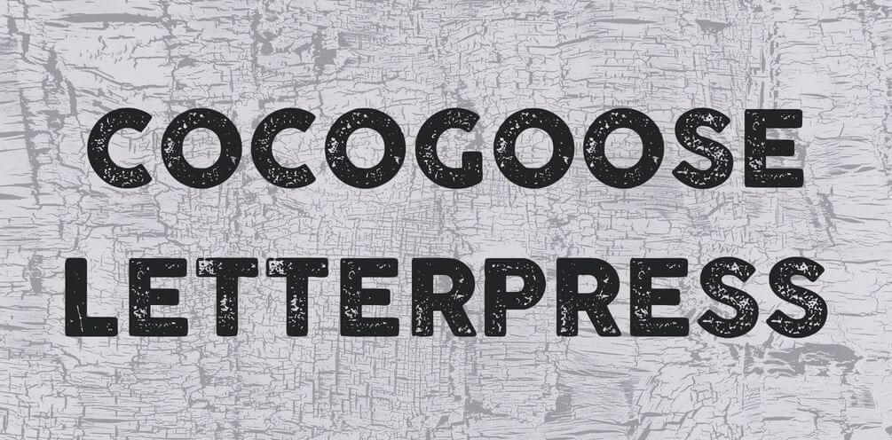 letterpress font - Letterpress Font Free Download
