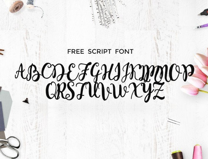monogram font - Monogram Script Font Free Download