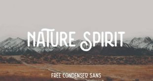 nature spirit font 310x165 - Nature Spirit Vintage Font Free Download