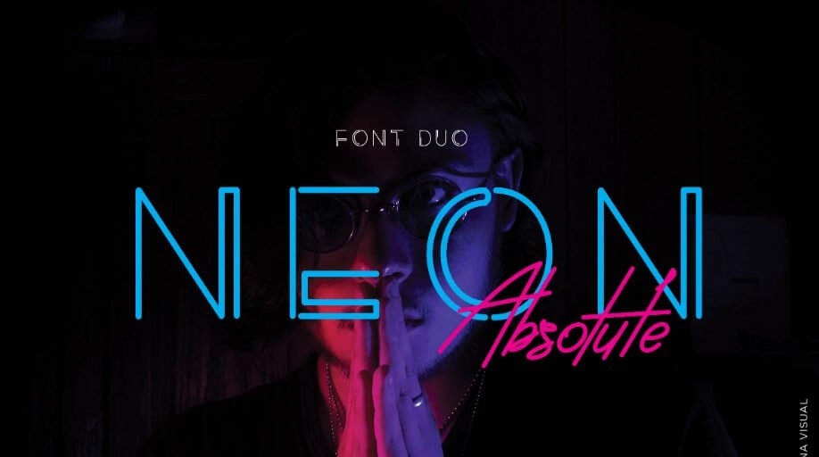 neon absolute font - Neon Absolute Typeface Free Download